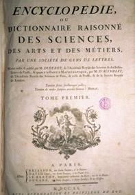 Imagen de la portada de la Encyclopedie