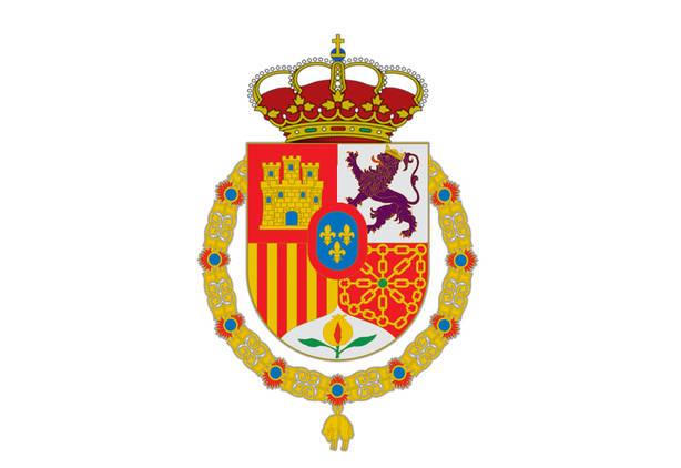 Escudo de armas del Reye Felipe VI