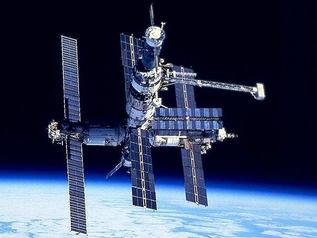 Estaci�n espacial MIR